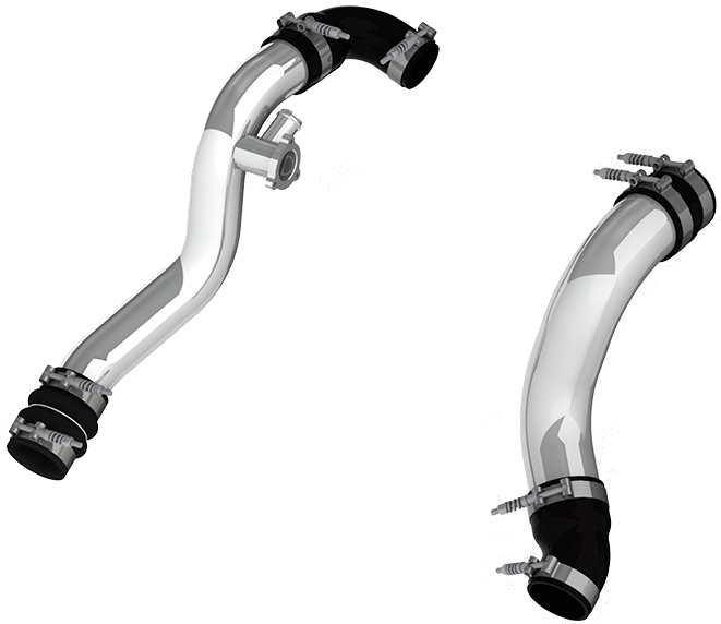 MBRP Intercooler Pipe Kit for Ford Mustang EcoBoost S550