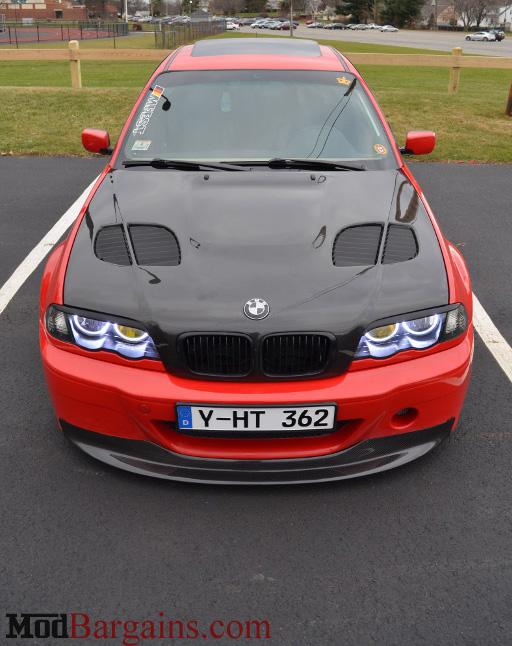 1 Piece CSL Bumper Carbon Fiber Front Lip