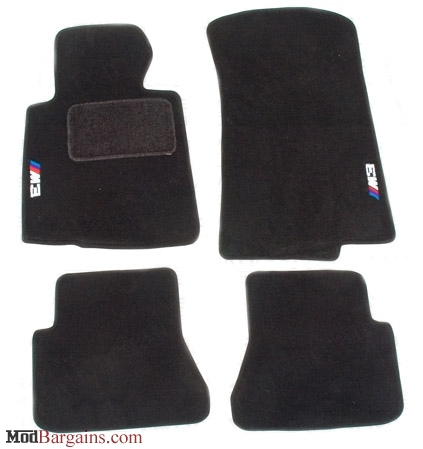 Oem Bmw M3 Floor Mats For 1999 2006 Bmw M3 3 Series E46