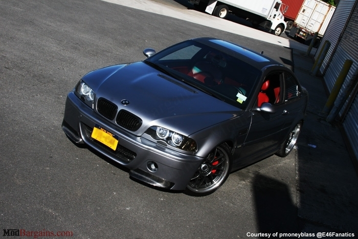 CSL Style V1 Front Bumper w/Grille for 1999-2006 BMW 3