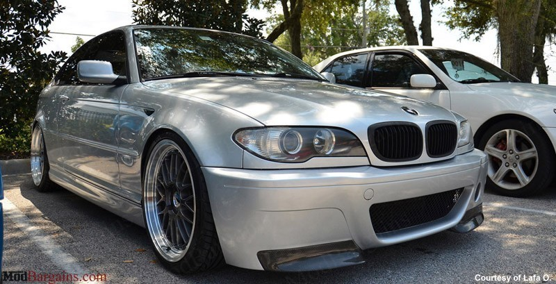 Csl Style V1 Front Bumper W Grille For 1999 2006 Bmw 3 Series M3 E46