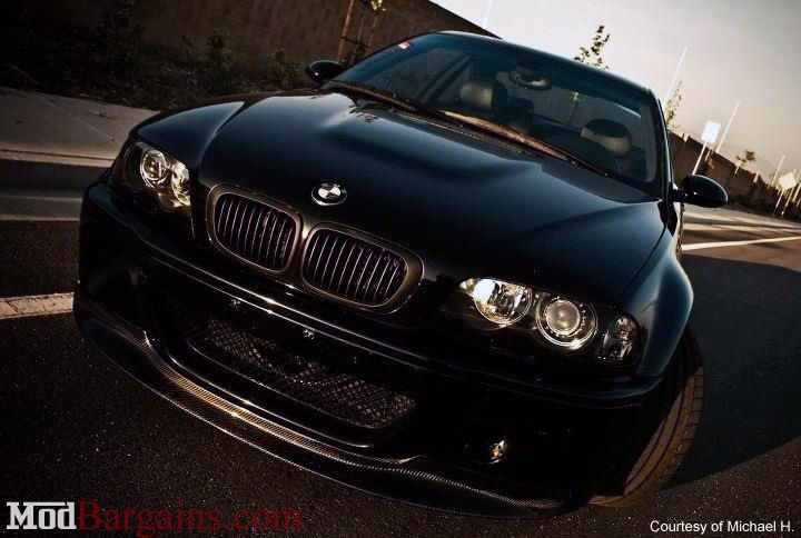 CF One Piece Front Lip BMW E46 M3 CSL Bumper
