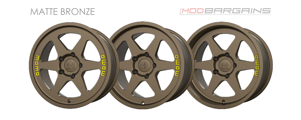 Momo Heritage 6 Wheel Color Options Matte Bronze Modbargains