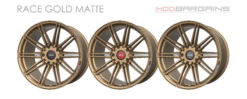 Momo RF-10S Wheel Color Options Race Gold Matte Modbargains