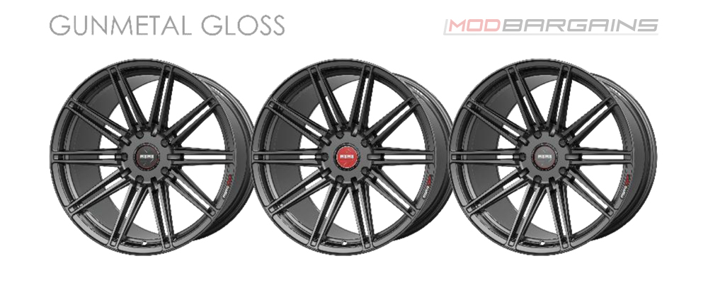 Momo RF-10S Wheel Color Options Gunmetal Gloss Modbargains