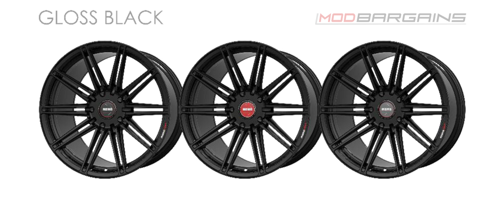 Momo RF-10S Wheel Color Options Gloss Black Modbargains