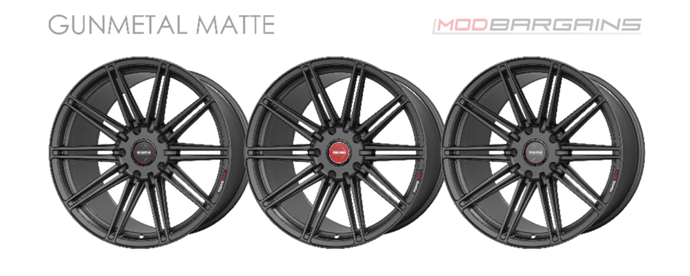 Momo RF-10S Wheel Color Options Gunmetal Matte Modbargains