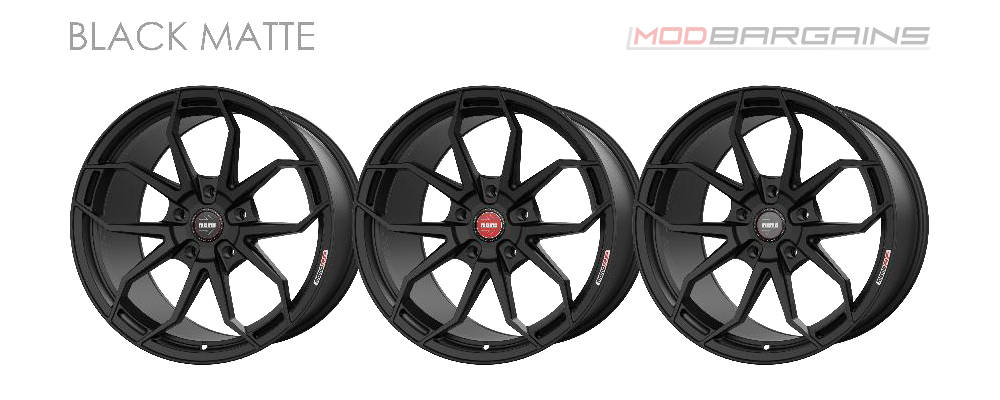 Momo RF-5C Wheel Color Options Matte Black Modbargains