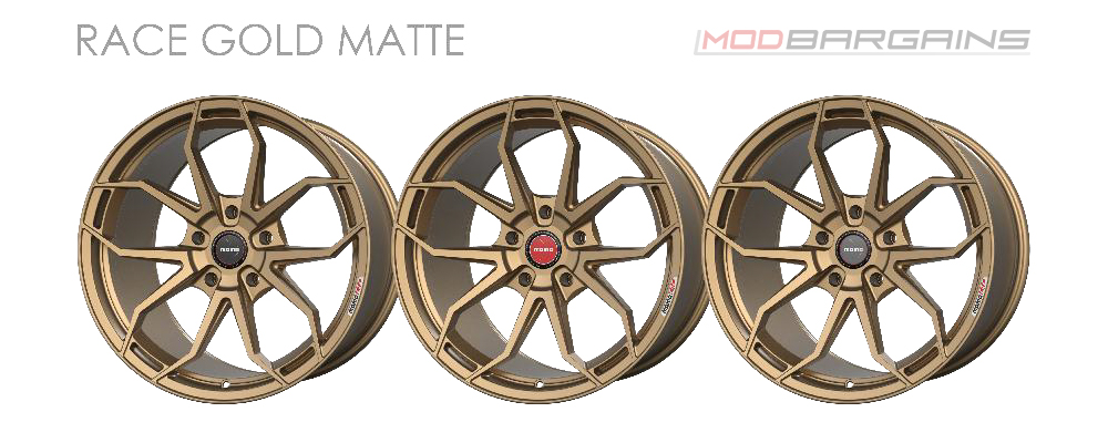 Momo RF-5C Wheel Color Options Race Gold Matte Modbargains