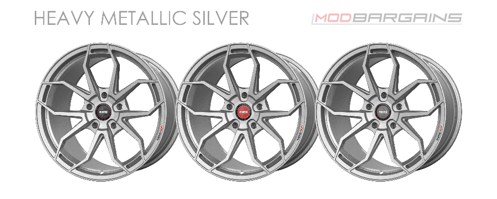 Momo RF-5C Wheel Color Options Heavy Metallic Silver Modbargains