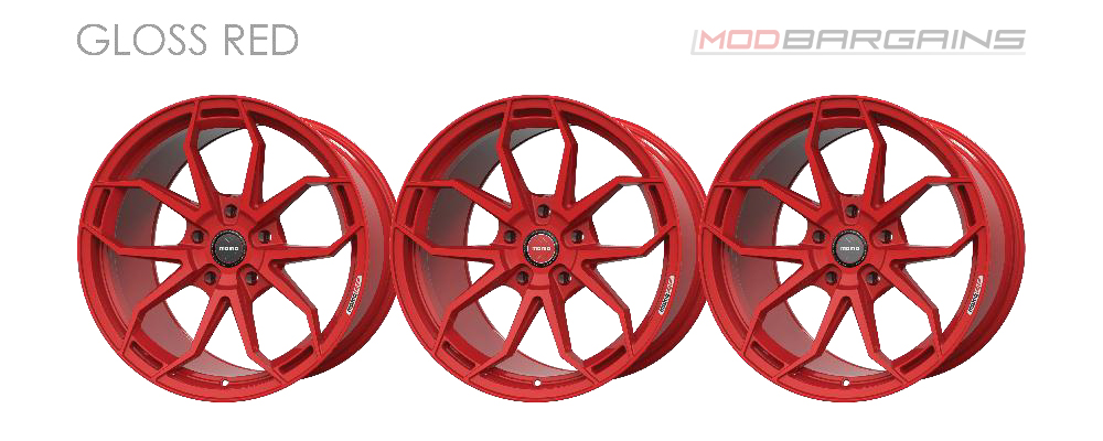 Momo RF-5C Wheel Color Options Gloss Red Modbargains
