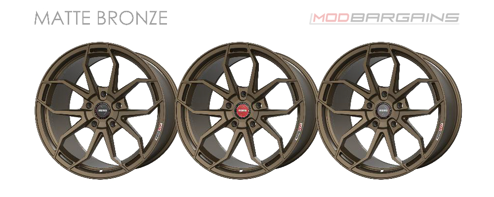 Momo RF-5C Wheel Color Options Matte Bronze Modbargains