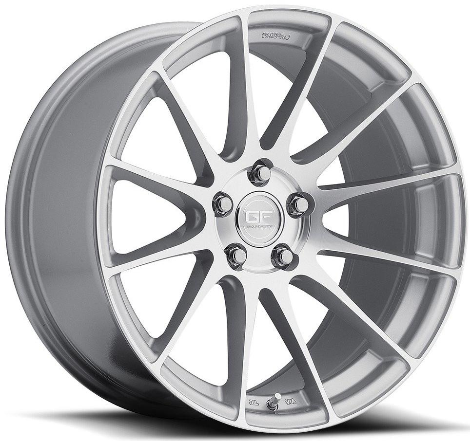 MRR GF06 Wheels in Silver Front