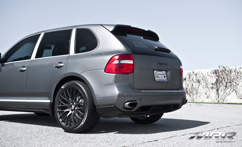 MRR HR-6 Wheels on Porsche Cayenne