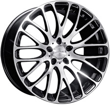 MRR HR-6 Wheels Black Machined Face