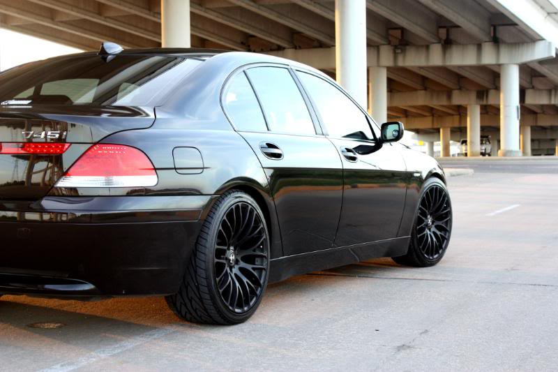 MRR HR-6 Wheels on BMW E65