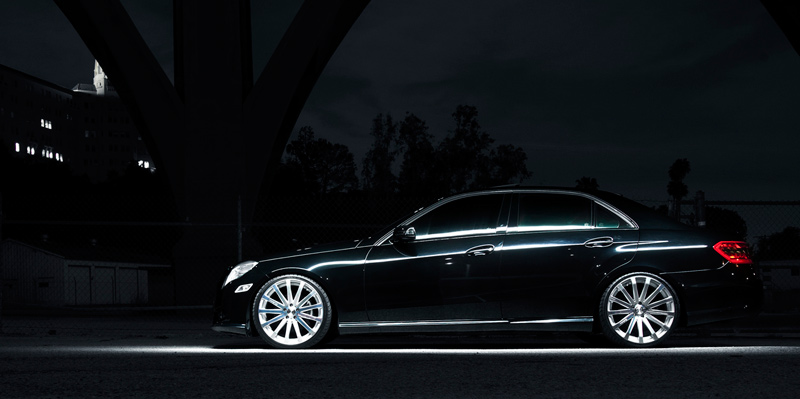 MRR HR9 Wheels on Mercedes E-Class