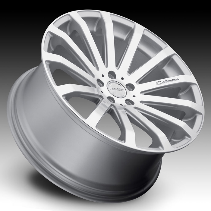 MRR HR9 Wheels Silver Machined Face