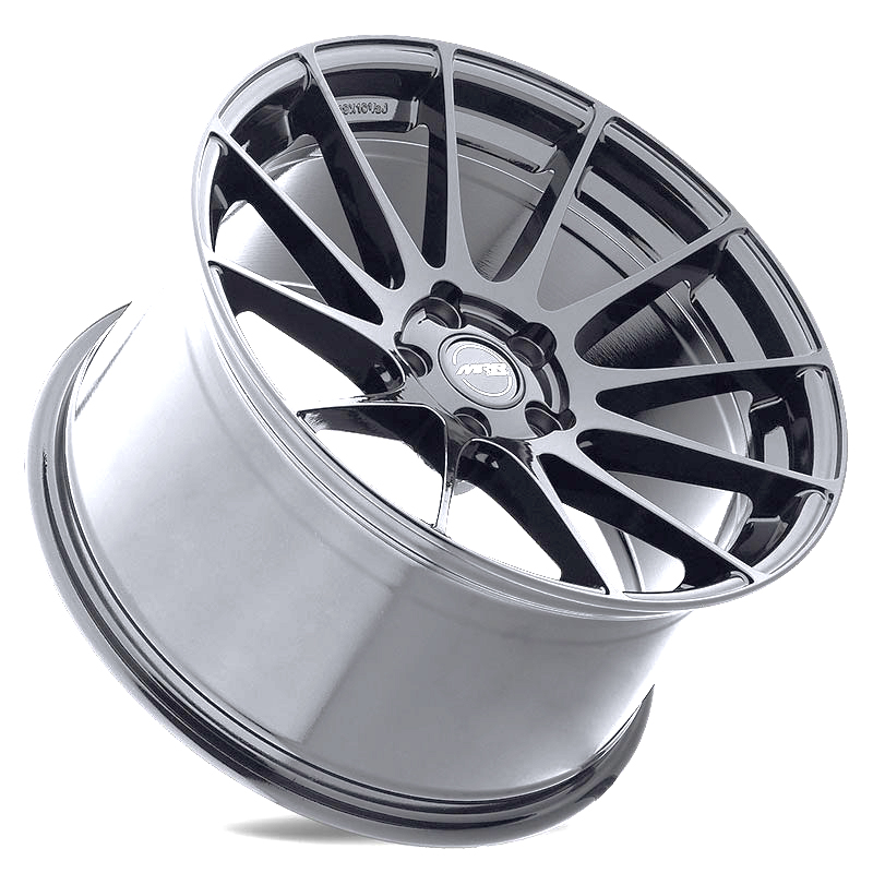 MRR GF6 Wheels in Silver Angled