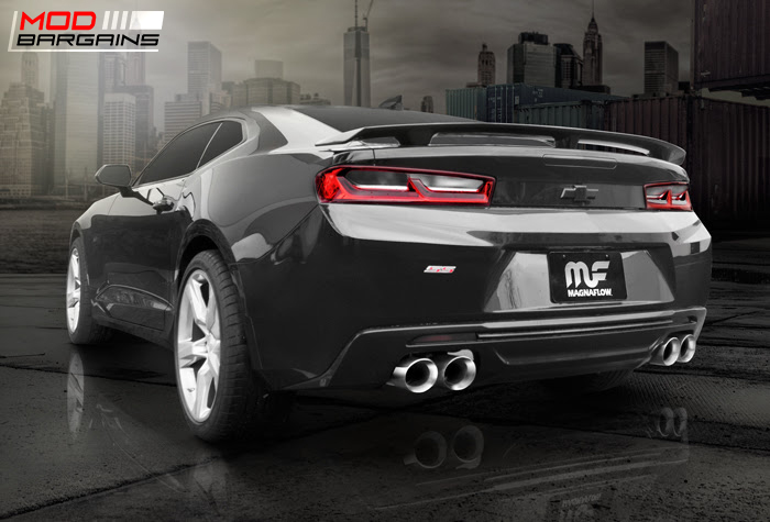 Magnaflow Cat-Back Competition Exhaust for 2016-2017 Chevy Camaro SS