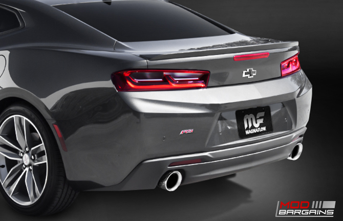 Magnaflow Axle-Back Race Exhaust Installed on 2016 Camaro 3.6L V6