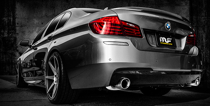 BMW 535i with Magnaflow exhaust