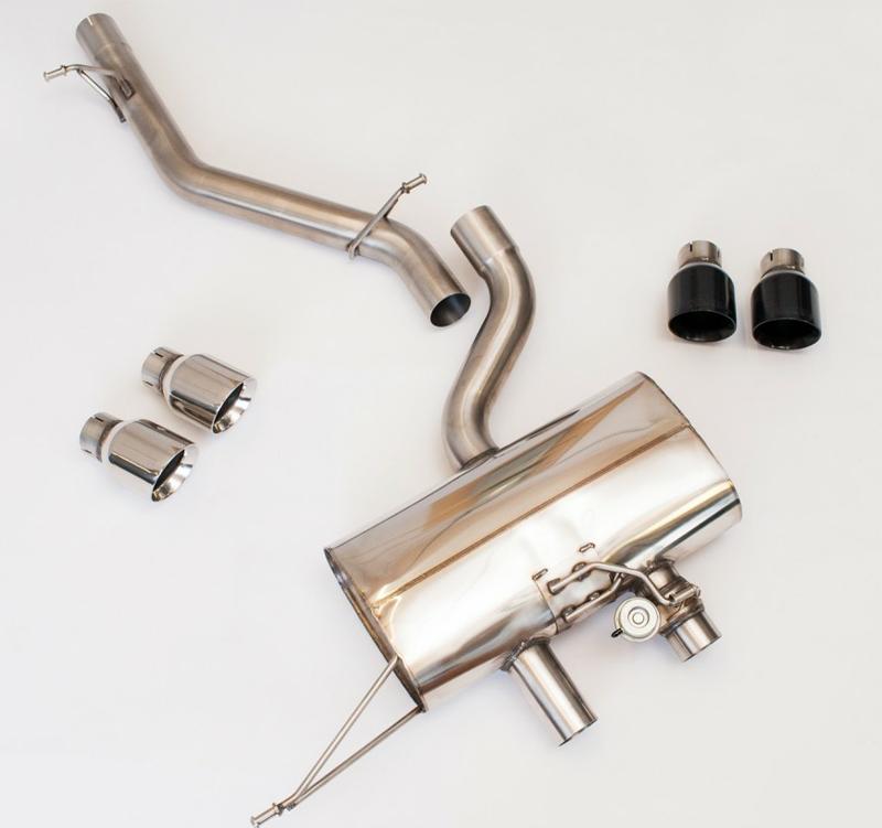 Milltek Catback Exhaust for VW MK6 Golf R Non Resonated