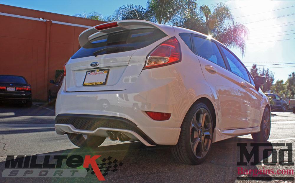 Milltek 80mm Cat-Back Exhaust For 2014+ Fiesta ST SSXFD100