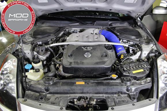 Mishimoto Silicone Intake Hose for 2003-08 Nissan 350Z/Infiniti G35 [Z33/V35] MMHOSE-350Z-03IH