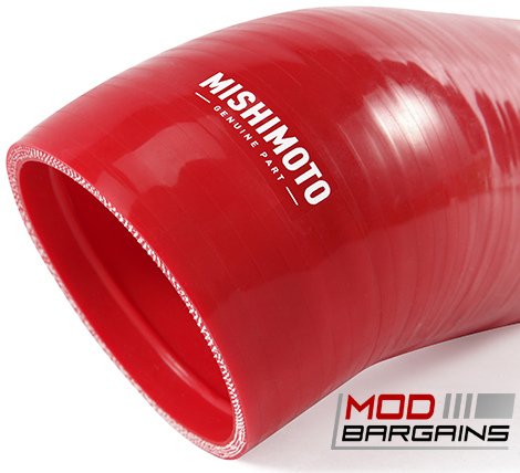 Mishimoto Silcone Intake Boot for 2006-13 BMW E90 E92 Red