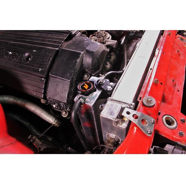 BMW E36 Aluminum coolant expansion tank Mishimoto MMRT-E36-92