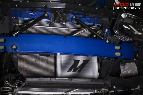 Mishimoto Oil Cooler Kit Installed on 2016 Camaro SS - MMOC-CAM8-16
