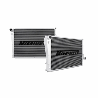 Mishimoto BMW E46 M3 Aluminum Performance Radiator Side by Side