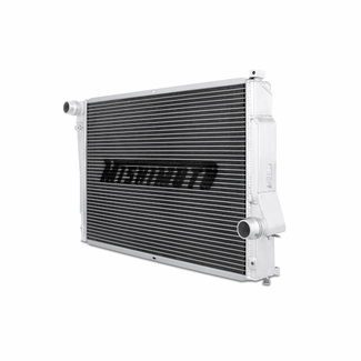 Mishimoto BMW E46 M3 Aluminum Performance Radiator Side View