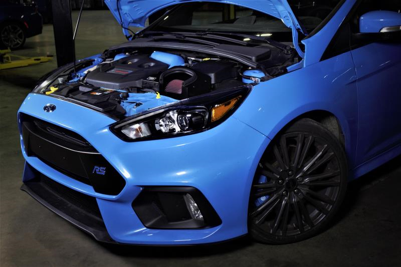 Mishimoto Air Intake Installed on Ford Focus RS (5)