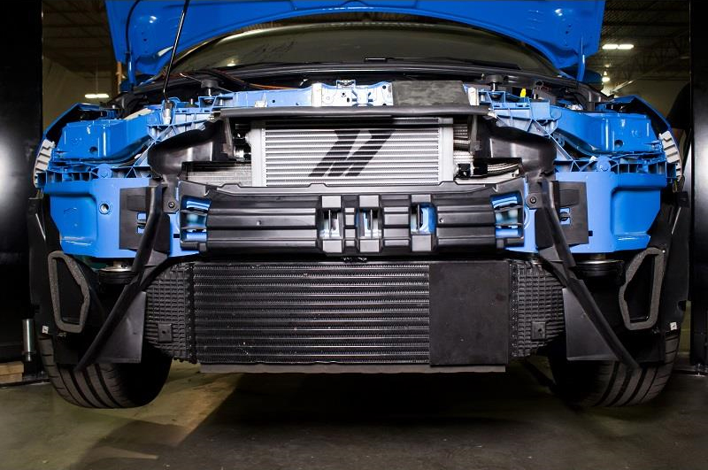 Mishimoto Oil Cooler Installed on Ford Focus RS (2)