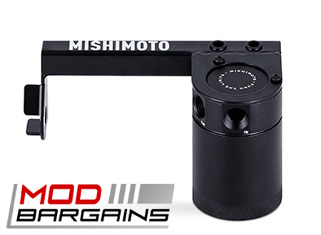 Mishimoto 2016+ Ford Focus RS Baffled Oil Catch Can, PCV Side (#MMBCC-RS-16PBE)
