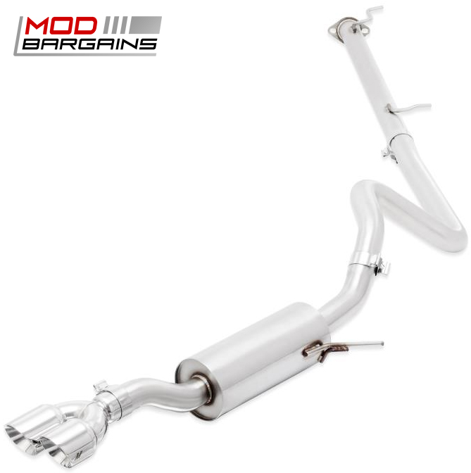 Mishimoto Cat-Back Exhaust w/ Polished Tips for 2014+ Ford Fiesta ST