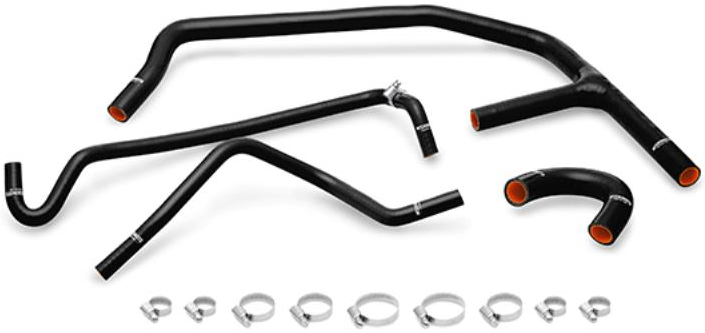 Mishimoto Silicone Ancillary Hose Kit in Black for Mustang EcoBoost S550