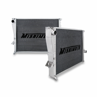 Mishimoto BMW Z3 Aluminum Performance Radiator Side by Side