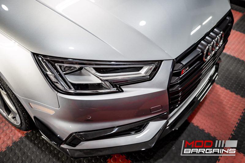 2016+ Audi A4 S4 B9 Morph Auto Design Carbon Fiber Front Lip