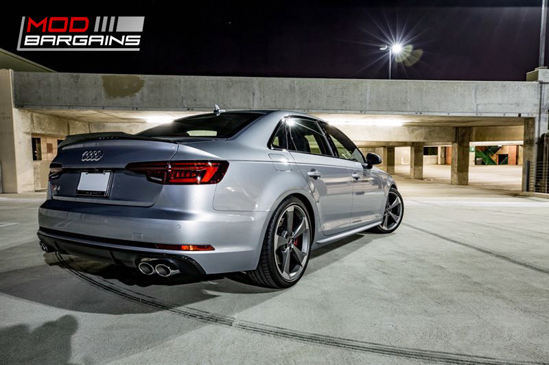 2016+ Audi A4 S4 B9 Morph Auto Design Carbon Fiber Body Kit rear side