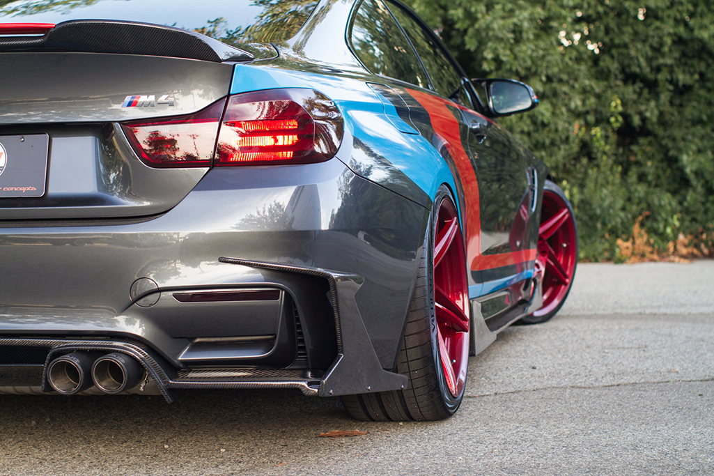 Morph Auto Design Fang Type 1 Rear Diffuser Installed (5)
