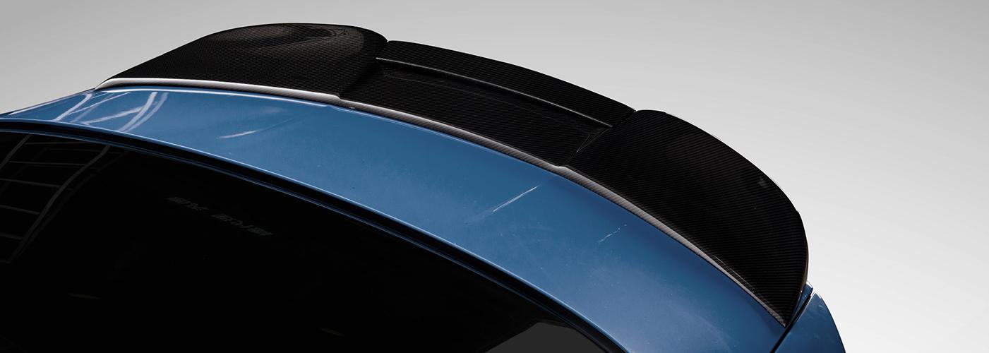 Morph Auto Design Fang Spoiler Installed (3)