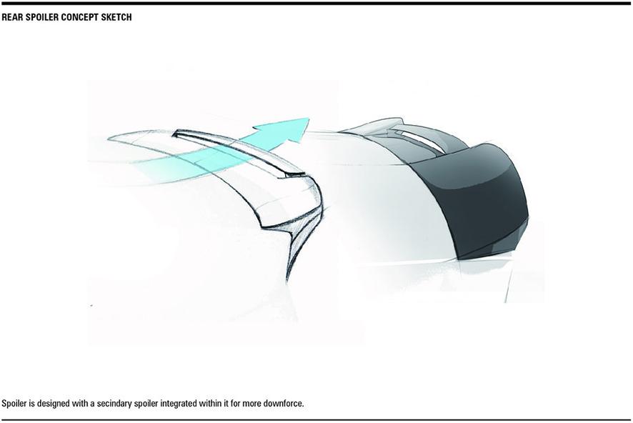 Morph Auto Design Fang Spoiler for BMW M4 F82 (3)