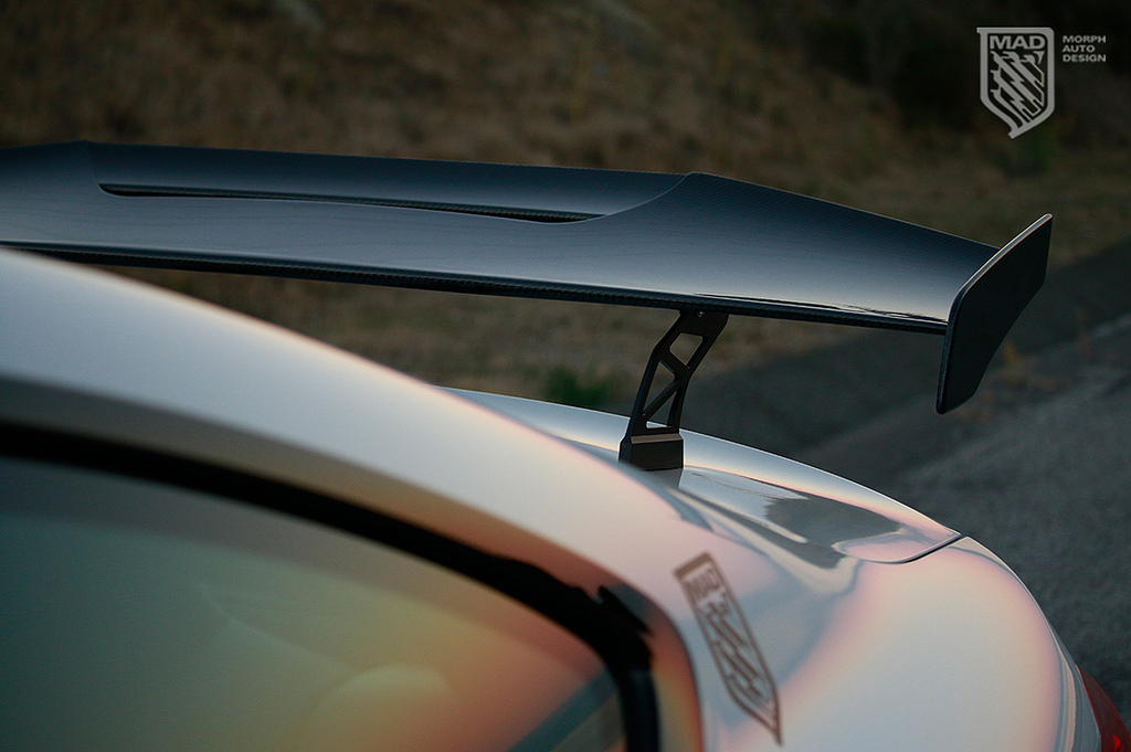 Morph Auto Design GT Wing Installed (5)