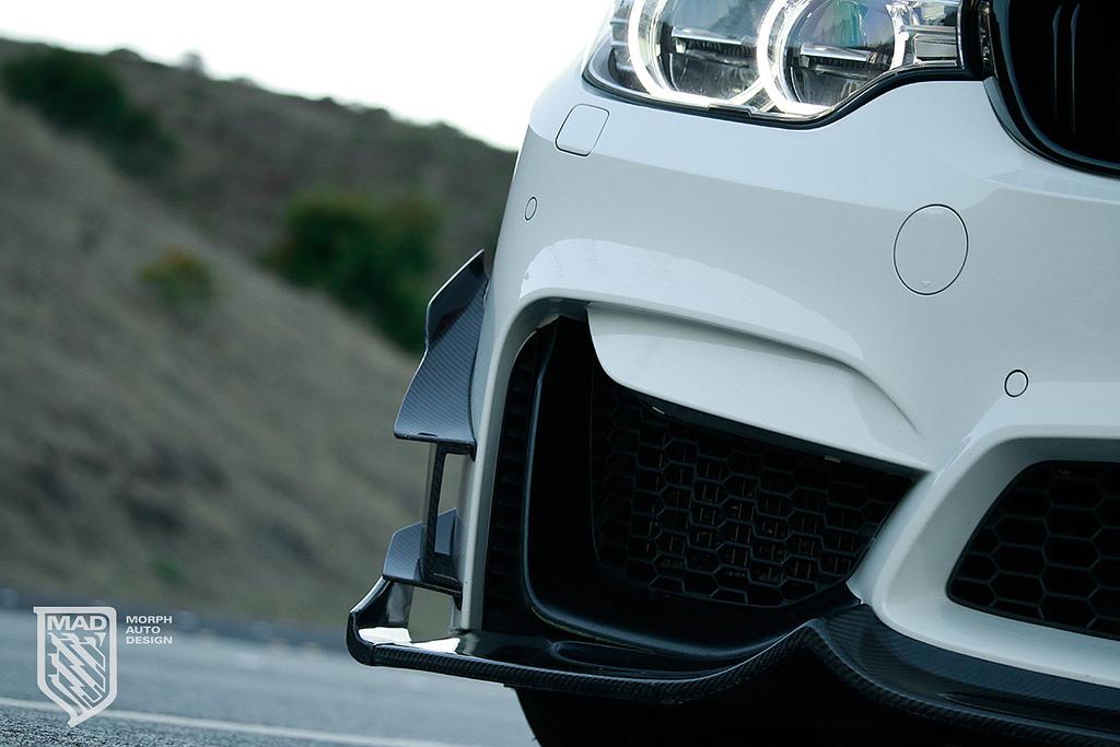 Morph Auto Design GT Canards Installed (3)