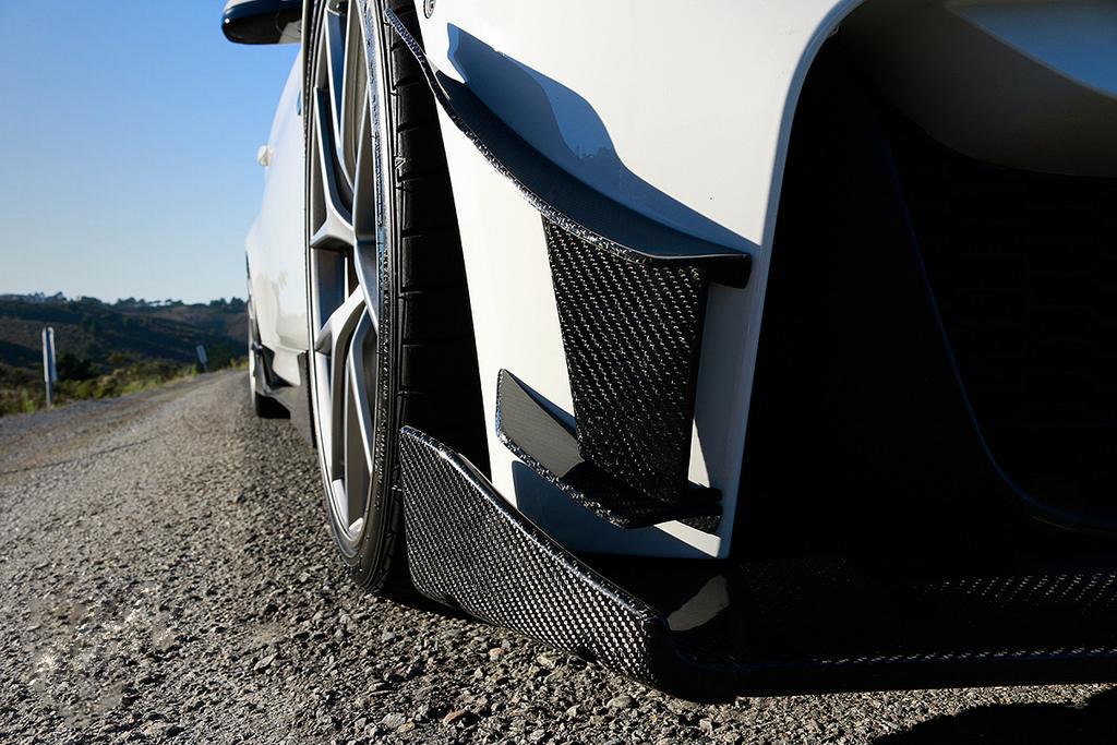 Morph Auto Design GT Canards Installed
