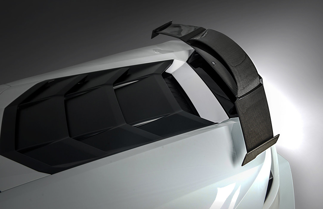Morph Auto Design HydraRear Double Wing Installed (2)