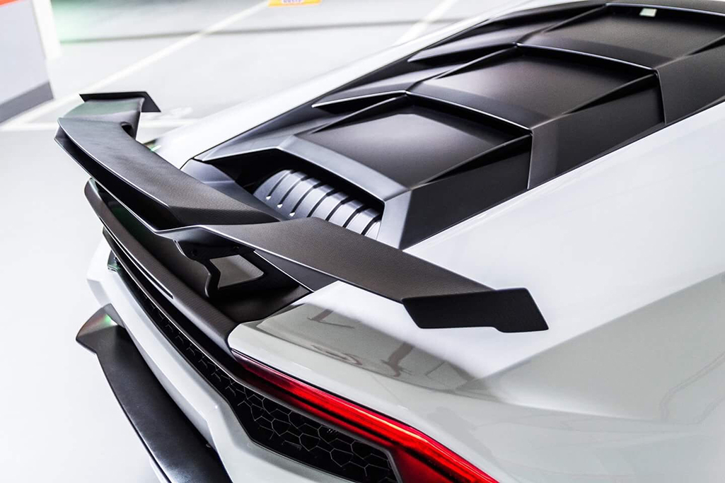 Morph Auto Design Hydra Rear Double Wing Installed (5)